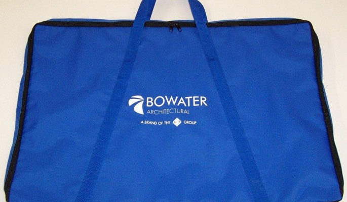 branded window display bags