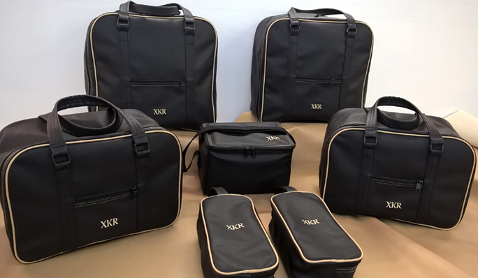 jaguar X150 bespoke luggage