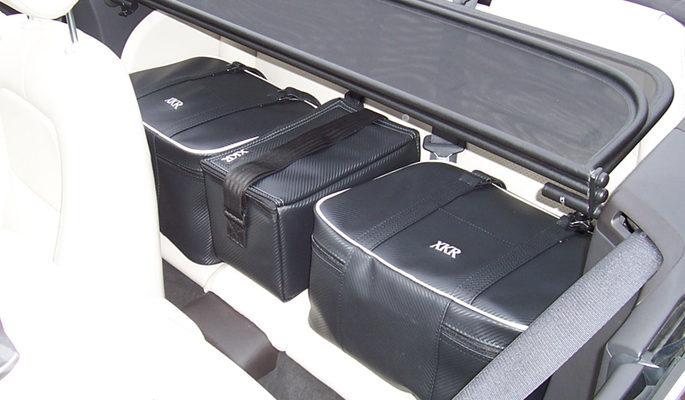 jaguar X150 bespoke luggage