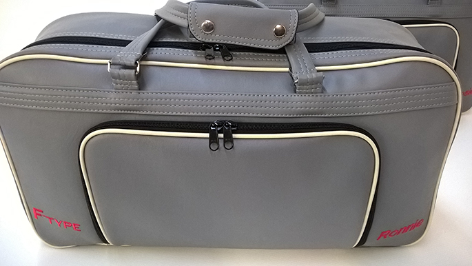 jaguar f-type luggage