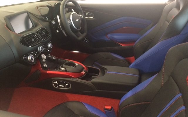Alexandra Martin Skyfall Aston Martin Vantage 2